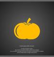 pumpkin icon simple gardening element symbol vector image vector image