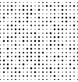 seamless pattern with small polka dot pattern vector image