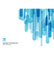 abstract technology vertical overlapping vector image vector image