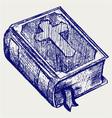 Bible vector image vector image