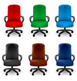 Office Armchairs vector image vector image