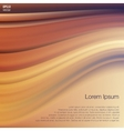 Orange Violet Wave Abstract Background vector image vector image