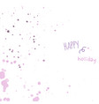 pastel smooth light pink purple shades splatters vector image vector image