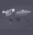 transparent world map vector image