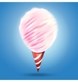 realistic cotton candy vector image
