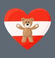 Austrian Teddy Bears vector image