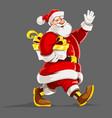 christmas holiday santa vector image vector image