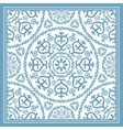 Light blue scarf design vector image vector image