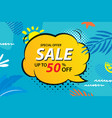 summer sale emails and banners templates vector image