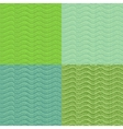Abstract stylized seamless pattern set vector image vector image