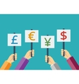 Business currency flat vector image