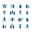 Business Planning and Success Azure vector image vector image