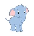 Cartoon Baby Elephant vector image vector image