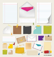 Collection of papers ready for your message vector | Price: 1 Credit (USD $1)
