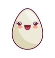 egg kawaii style icon vector image vector image