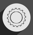 gears settings vector image