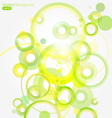 Green abstract colorful background vector | Price: 1 Credit (USD $1)