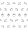 seamless pattern with basketball vector image vector image