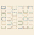 sketch frames album doodle dividers and stylized vector image vector image