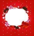 Sweet Love Heart Frame vector image vector image