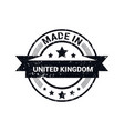 united kingdom stamp design vector image
