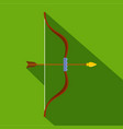 archery icon flat style