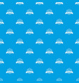education pattern seamless blue vector image vector image