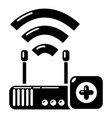 router repair icon simple style vector image vector image