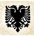 simple eagle icon vector image vector image