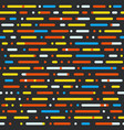 abstract seamless pattern different color vector image