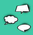 comic style speech bubble in vector image vector image
