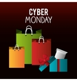 Cyber Monday shopping season vector image