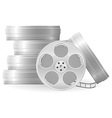 movie reel vector image vector image