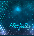 star dotted vector image vector image