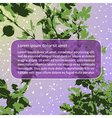 Violet gooseberry vector image