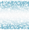 bright winter seamless pattern vector image vector image