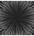 comic book speed lines background vector image vector image