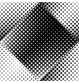 monochrome abstract geometrical seamless square vector image vector image