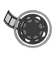 movie reel symbol vector image vector image