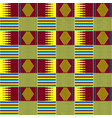 ethnic seamless pattern african kente cloth