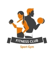 Fitness Club Logo vector image