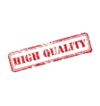 High quality rubber stamp vector image
