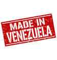 made in venezuela stamp vector image vector image