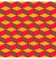 Seamless geometric pattern with geometric shapes vector image