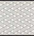 seamless pattern geometric stripes vector image