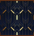abstract art deco seamless pattern 12 vector image vector image