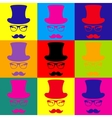 Hipster style accessories design vector image vector image