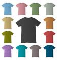 T-shirt design templates vector image vector image