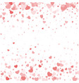 valentine day border design template vector image vector image