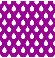 White Purple Water Drops Background vector image vector image